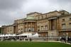 Back of Buckingham Palace