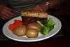Steak and Mushroom Pie - Sherlock Holmes Pub