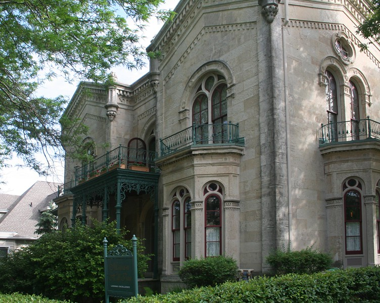 Mansion Hill Inn, a 9000 square foot victorian mansion that is now a B&B