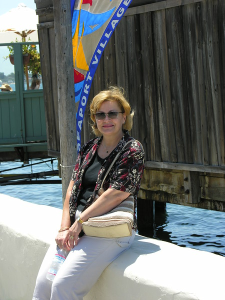 Jill at Seaport  Village