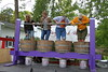 Grape stomping contest