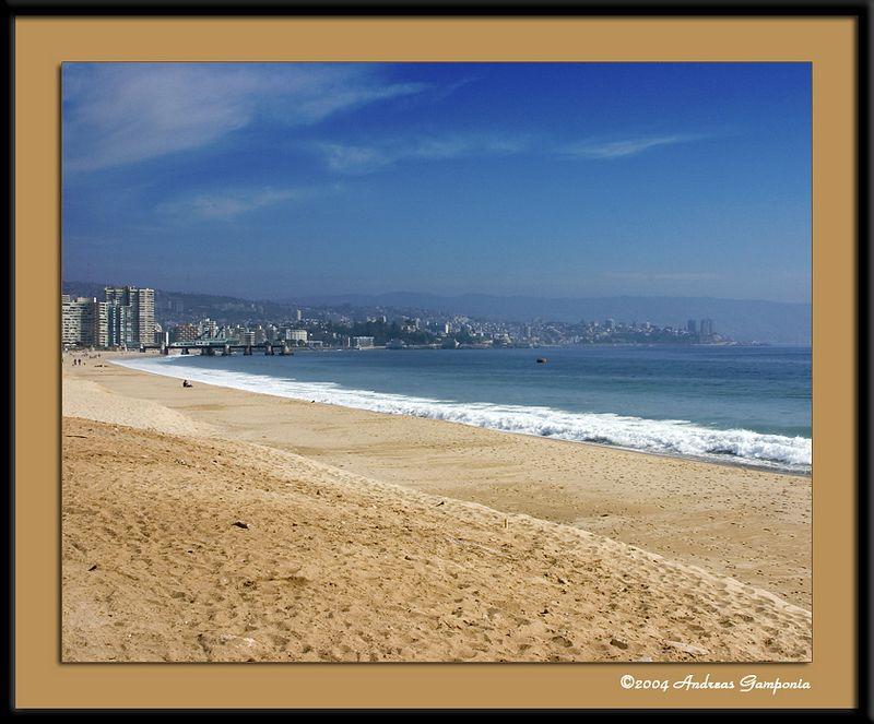 The beaches of Viňa Del Mar