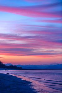 Sunset on Saratoga Beach
