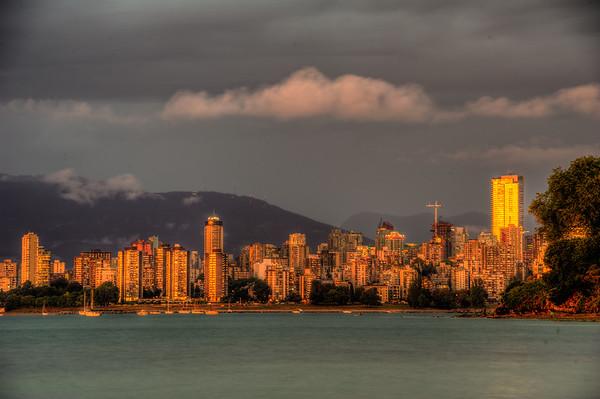 English Bay from Kitsalano, Vancouver. Photo by: Stephen Hindley©