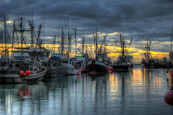 Steveston Harbor, Vancouver, British Columbia.  Photo by: Stephen Hindley©