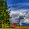 Red Barn in Pitt Meadows, British Columbia.  Photo by: Stephen Hindley ©