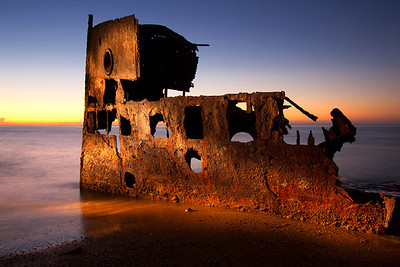 IMG_9215 Guyandah Wreckage at Woody Point, Redcliffe-QLD