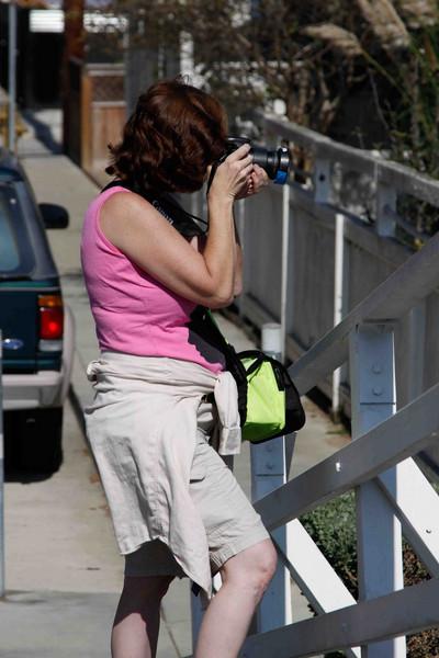Karen with her new camera!