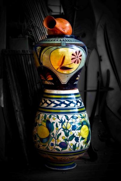 still life pottery