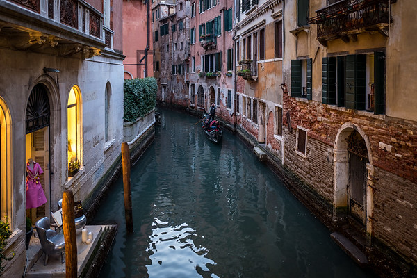 Channels in Venice