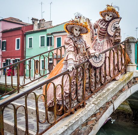 Carnival of Venice 2017 in Burano