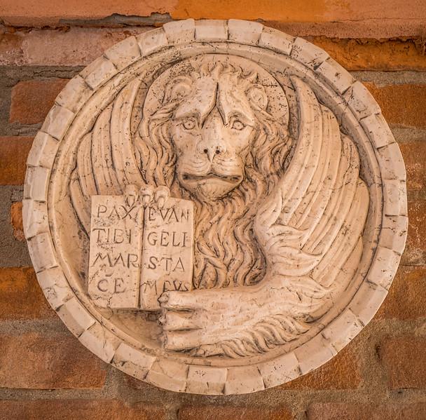 Lion on a building, Venice