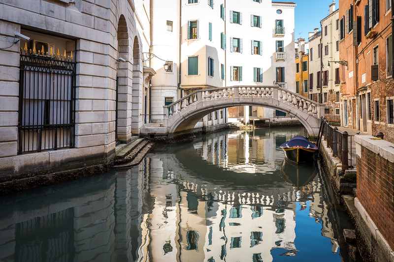 A bridge in Venice