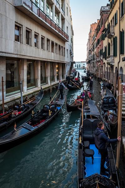 Traffic in Venice