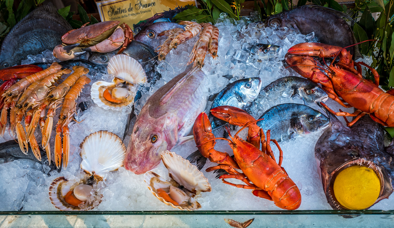 Seafood in Venice