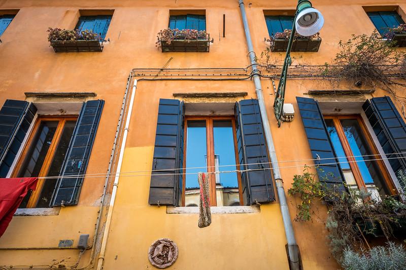 Windows in Venice, Italy