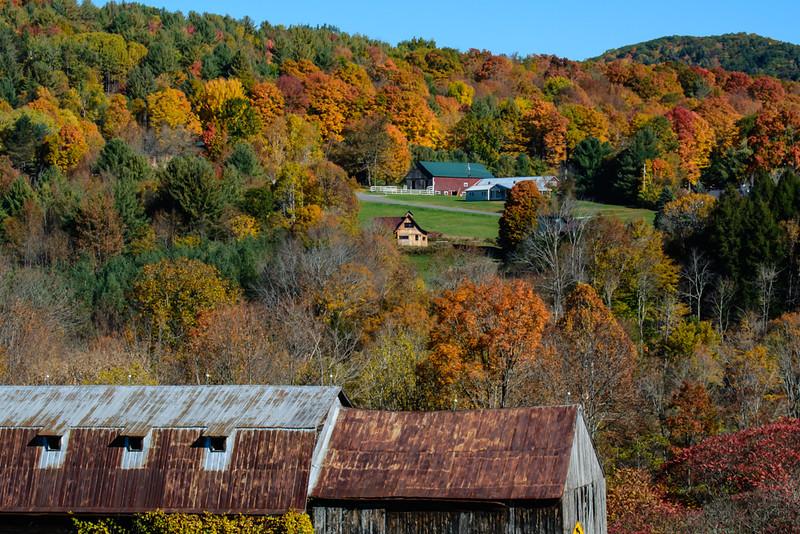 Old Barn - New Barn