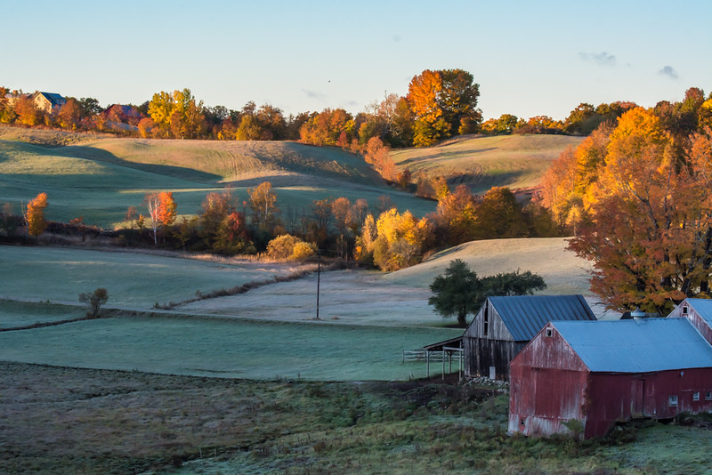 Sunrise at jenne Farm
