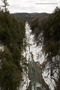 Quechee Gorge in Vermont - March 2013