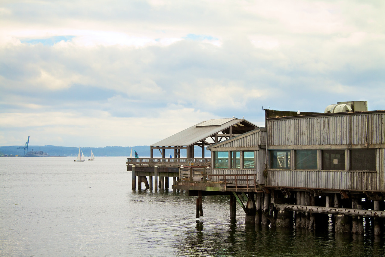 Dock on Port Townsend.