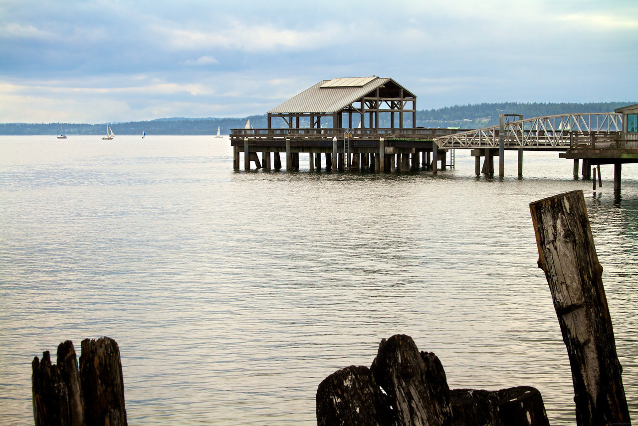 One of the docks in Port Townsend.