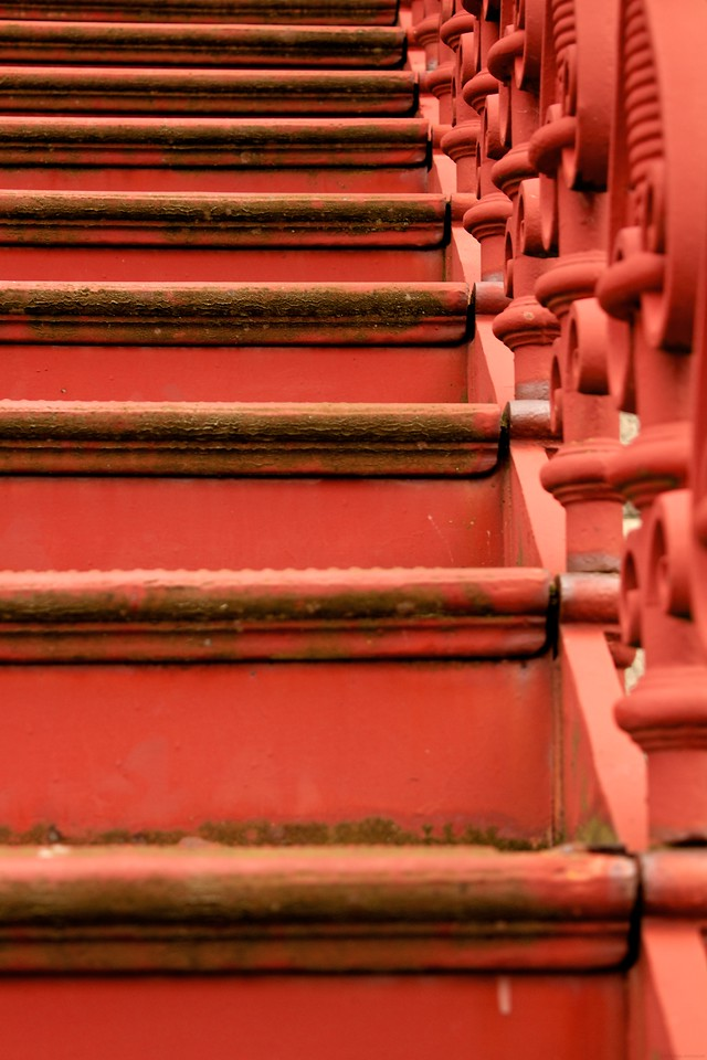 Jefferson County Courthouse steps.