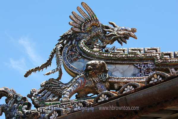 Decorative rooflines -- Hue Emperial City