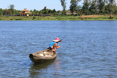 Fishing on the Huong River
