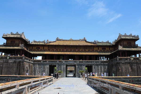 Ngo Mon (The Noon Gate) -- Entrance to Hue Imperial City