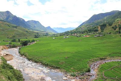 Overlooking Lao Chai Village