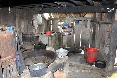 Tradditinoal Hmong home