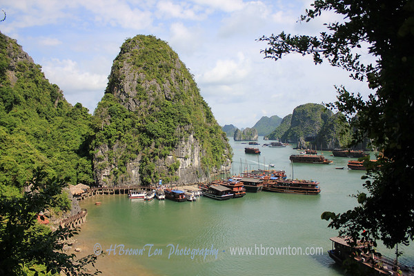 Halong Bay from Sung Sot Caves