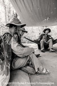 Vietnamese Soldiers in Camp - Copyright 2018 Steve Leimberg UnSeenImages Com _DSC0126