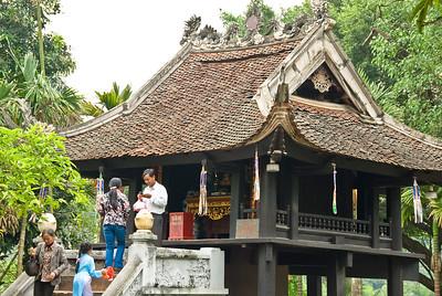 One Pillar Pogoda-Hanoi-Vietnam
