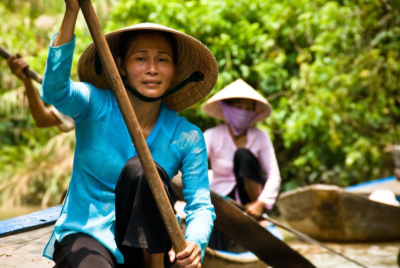 Mekong Delta-Tien Giang-My Tho-Vietnam