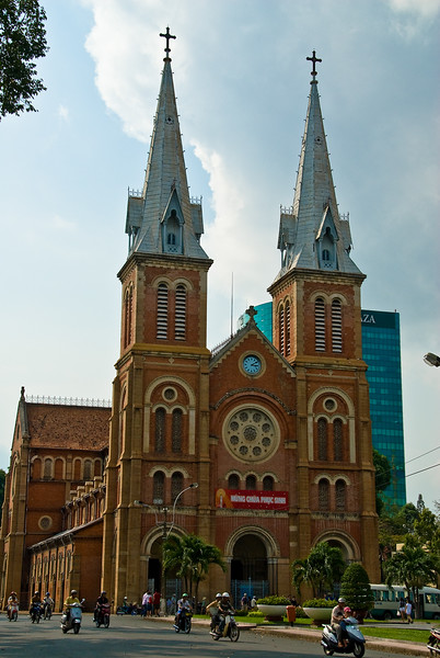 Notre Dame Cathedral-Ho Chi Minh City-Vietnam