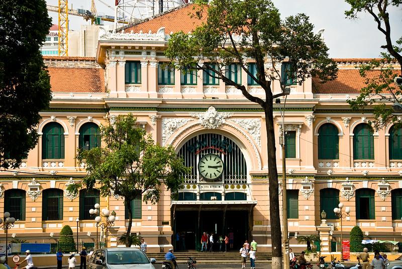 Post Office-Ho Chi Minh City-Vietnam