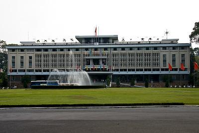 Reunification Palace-Ho Chi Minh City-Vietnam