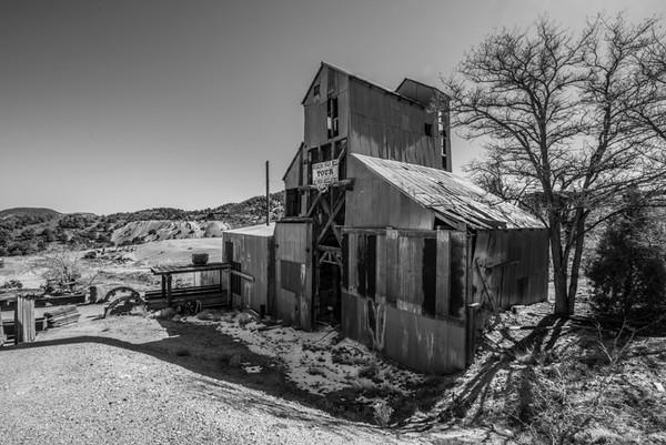The Comstock Mine.
