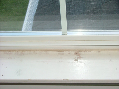 Window sill, office