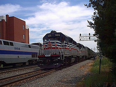 Amtrak and VRE