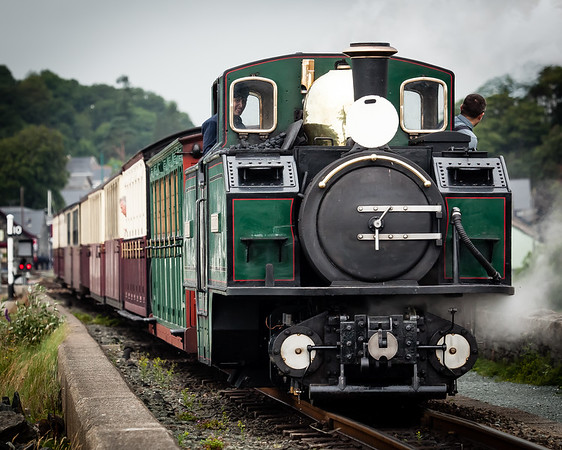 Ffestiniog Steam railway