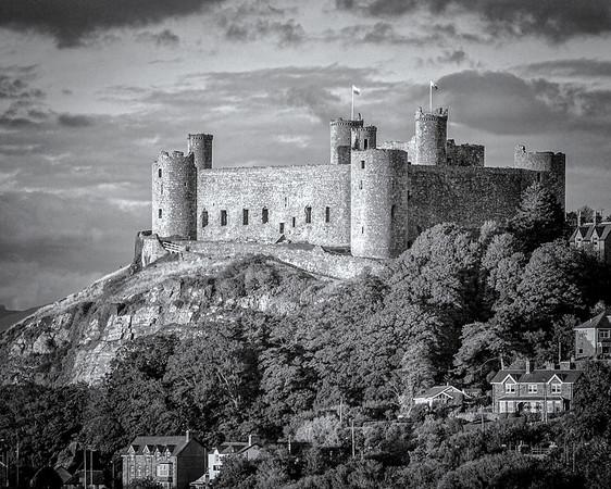 Harlech Castle, N Wales.