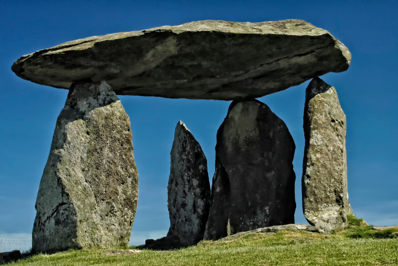 Pentre Ifan Cromlech - Neolithic dolmen - Approx. 3500 BC - N. Pembrokeshire, Wales