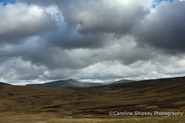 View from the B4407 near Ysbyty Ifan  Betws-y-Coed, Gwynedd