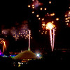Magic Kingdom fireworks<br /> Viewed from Bay Lake Tower