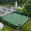 Bay Lake Tower tennis courts