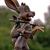 Braer Rabbit bronze statue