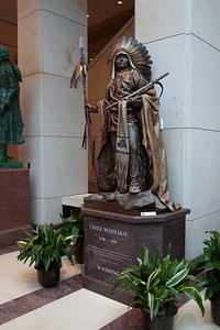 Chief Washakie - in US Capitol Visitor Center