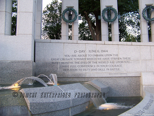 WWII Memorial; D-Day